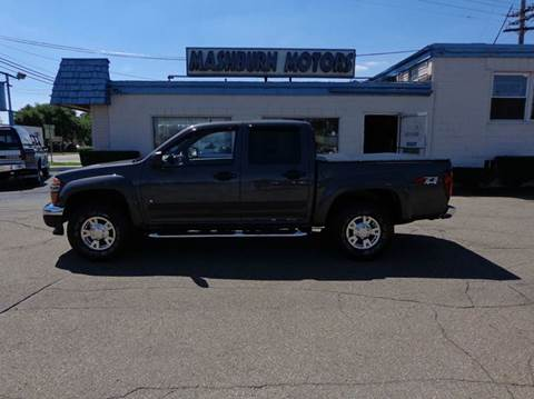 2008 Chevrolet Colorado for sale at Mashburn Motors in Saint Clair MI