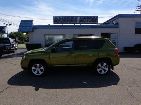 2012 Jeep Compass for sale at Mashburn Motors in Saint Clair MI