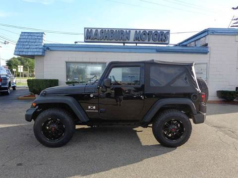 2007 Jeep Wrangler for sale at Mashburn Motors in Saint Clair MI