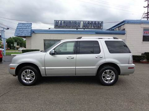 2009 Mercury Mountaineer for sale at Mashburn Motors in Saint Clair MI