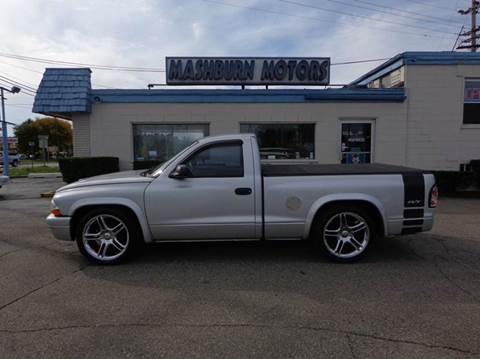 2003 Dodge Dakota for sale at Mashburn Motors in Saint Clair MI