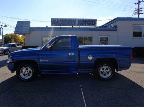 1996 Dodge Ram Pickup 1500 for sale at Mashburn Motors in Saint Clair MI