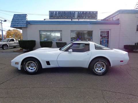 1980 Chevrolet Corvette for sale at Mashburn Motors in Saint Clair MI