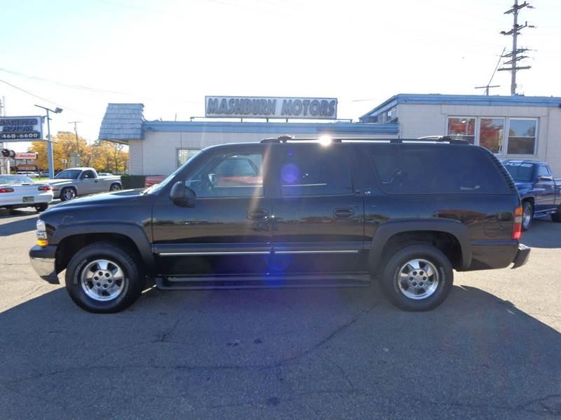 2001 Chevrolet Suburban for sale at Mashburn Motors in Saint Clair MI