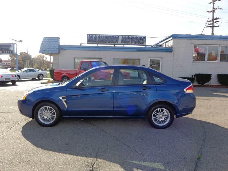 2008 Ford Focus for sale at Mashburn Motors in Saint Clair MI