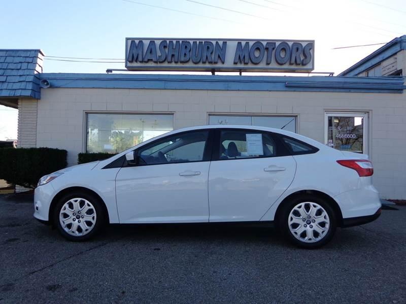 2012 Ford Focus for sale at Mashburn Motors in Saint Clair MI