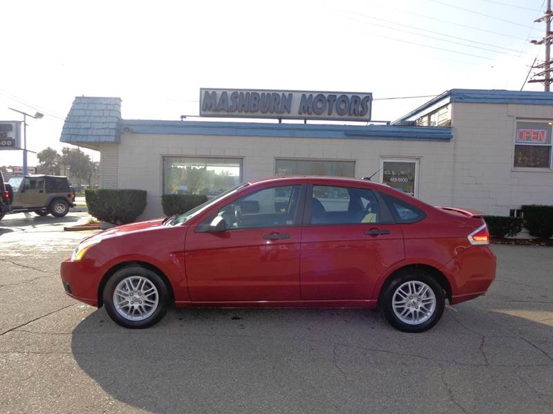 2009 Ford Focus for sale at Mashburn Motors in Saint Clair MI