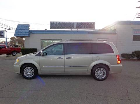 2012 Chrysler Town and Country for sale at Mashburn Motors in Saint Clair MI