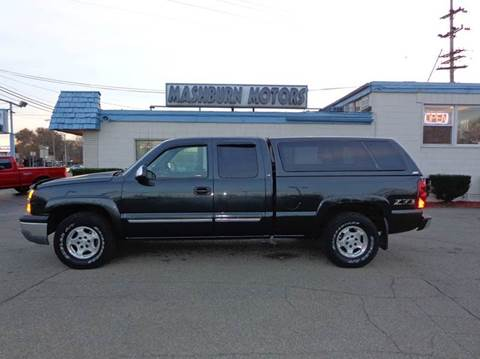 2003 Chevrolet Silverado 1500 for sale at Mashburn Motors in Saint Clair MI
