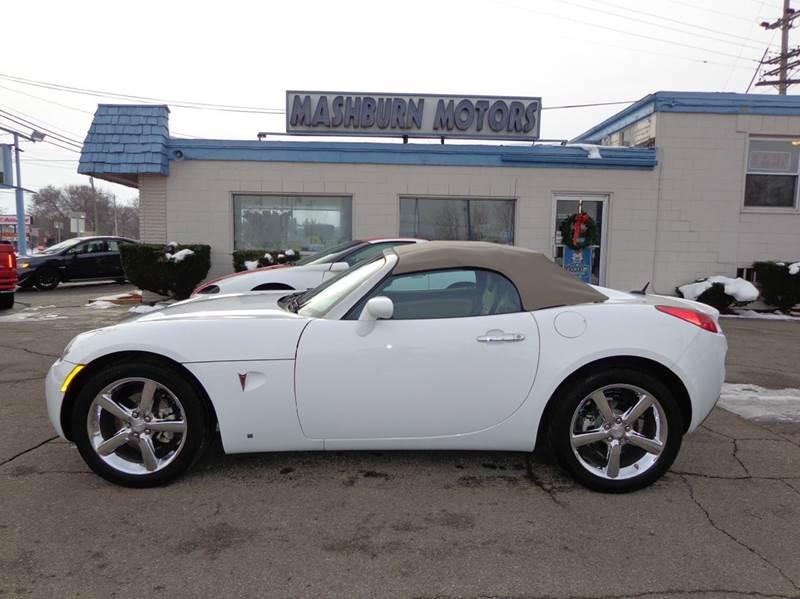 2009 Pontiac Solstice for sale at Mashburn Motors in Saint Clair MI