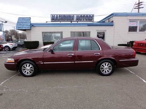 2004 Mercury Grand Marquis for sale at Mashburn Motors in Saint Clair MI