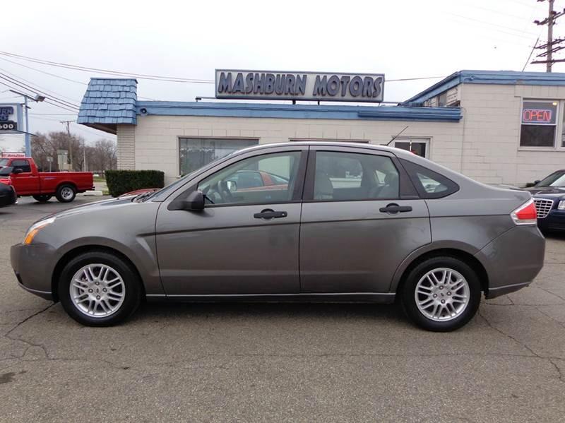 2010 Ford Focus for sale at Mashburn Motors in Saint Clair MI