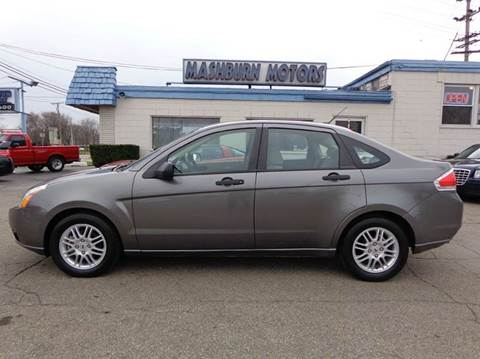 2010 Ford Focus for sale at Mashburn Motors in Saint Clair MI