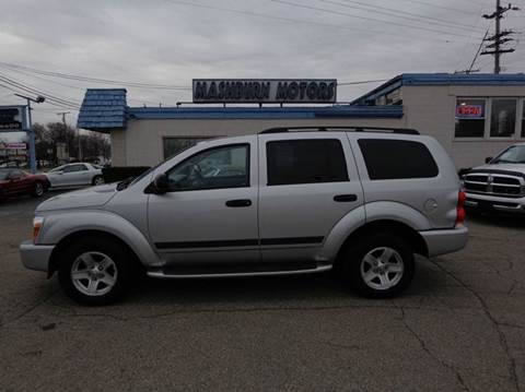 2006 Dodge Durango for sale at Mashburn Motors in Saint Clair MI