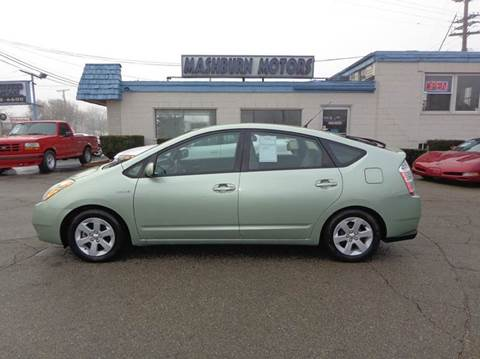 2007 Toyota Prius for sale at Mashburn Motors in Saint Clair MI