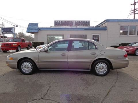 2002 Buick LeSabre for sale at Mashburn Motors in Saint Clair MI