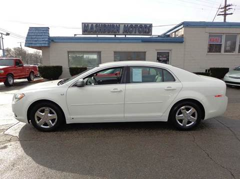 2008 Chevrolet Malibu for sale at Mashburn Motors in Saint Clair MI