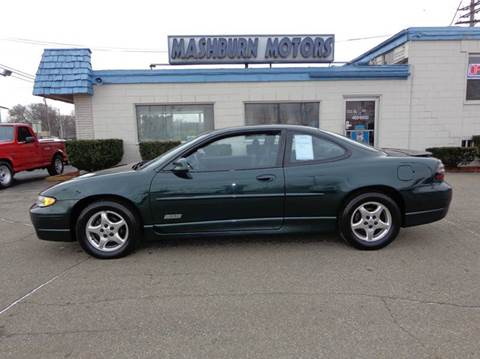 1998 Pontiac Grand Prix for sale at Mashburn Motors in Saint Clair MI