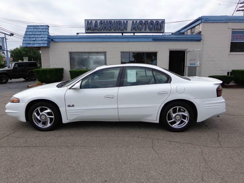 2000 Pontiac Bonneville for sale at Mashburn Motors in Saint Clair MI