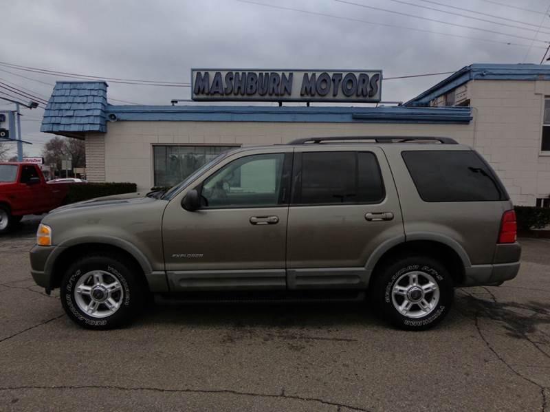 2002 Ford Explorer for sale at Mashburn Motors in Saint Clair MI