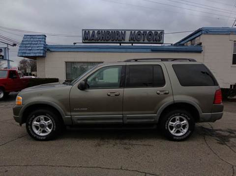 2002 Ford Explorer for sale at Mashburn Motors in Saint Clair MI