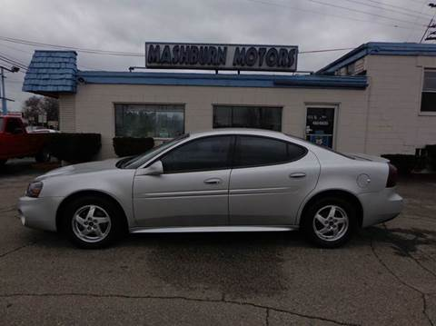 2004 Pontiac Grand Prix for sale at Mashburn Motors in Saint Clair MI