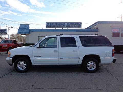 2002 GMC Yukon XL for sale at Mashburn Motors in Saint Clair MI