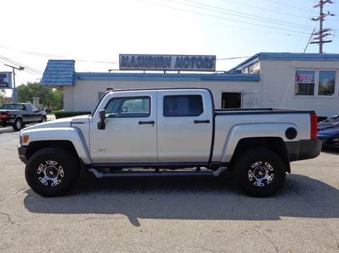 2010 HUMMER H3T for sale at Mashburn Motors in Saint Clair MI