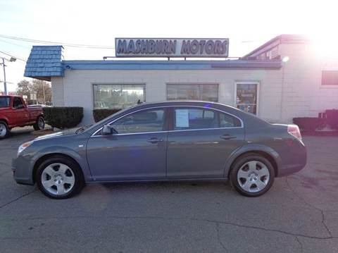 2009 Saturn Aura for sale at Mashburn Motors in Saint Clair MI