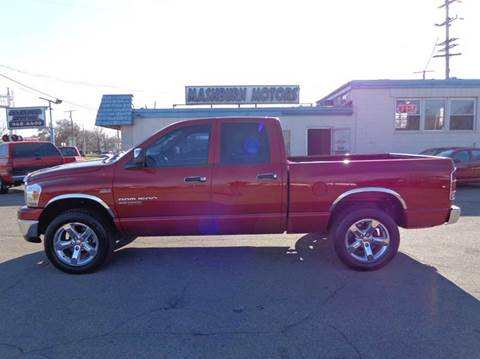 2006 Dodge Ram Pickup 1500 for sale at Mashburn Motors in Saint Clair MI