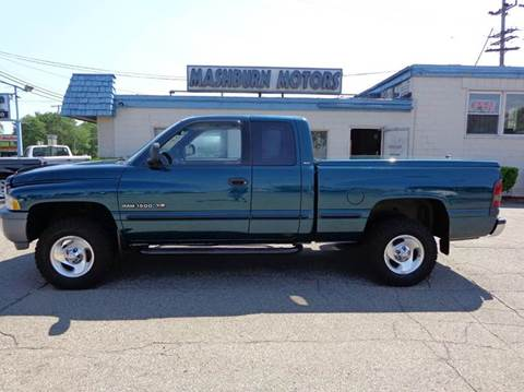 1999 Dodge Ram Pickup 1500 for sale at Mashburn Motors in Saint Clair MI