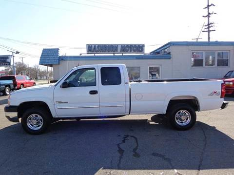 2003 Chevrolet Silverado 2500HD for sale at Mashburn Motors in Saint Clair MI