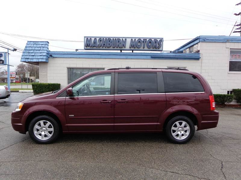 2008 Chrysler Town and Country for sale at Mashburn Motors in Saint Clair MI