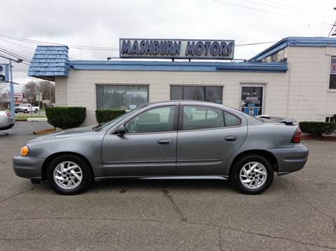 2004 Pontiac Grand Am for sale at Mashburn Motors in Saint Clair MI