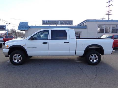 2006 Dodge Ram Pickup 2500 for sale at Mashburn Motors in Saint Clair MI