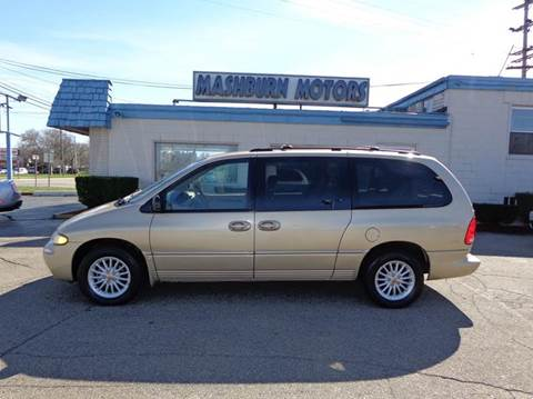 1999 Chrysler Town and Country for sale at Mashburn Motors in Saint Clair MI