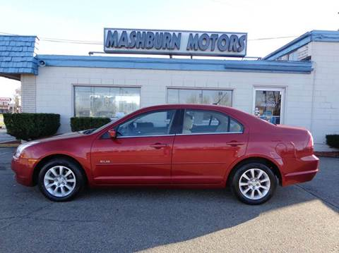 2007 Mercury Milan for sale at Mashburn Motors in Saint Clair MI