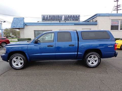2009 Dodge Dakota for sale at Mashburn Motors in Saint Clair MI