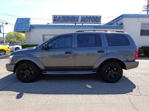 2004 Dodge Durango for sale at Mashburn Motors in Saint Clair MI