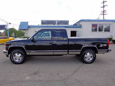 1996 Chevrolet C/K 1500 Series for sale at Mashburn Motors in Saint Clair MI