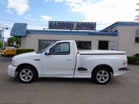 2001 Ford F-150 SVT Lightning for sale at Mashburn Motors in Saint Clair MI