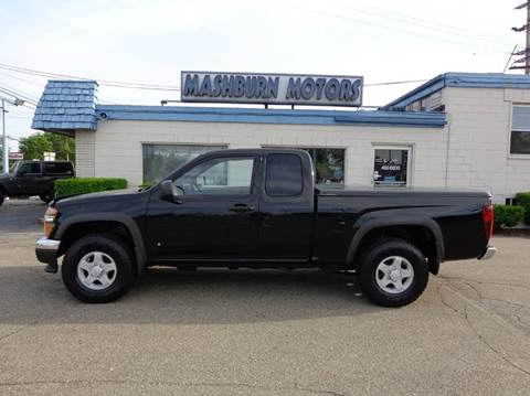 2008 GMC Canyon for sale at Mashburn Motors in Saint Clair MI