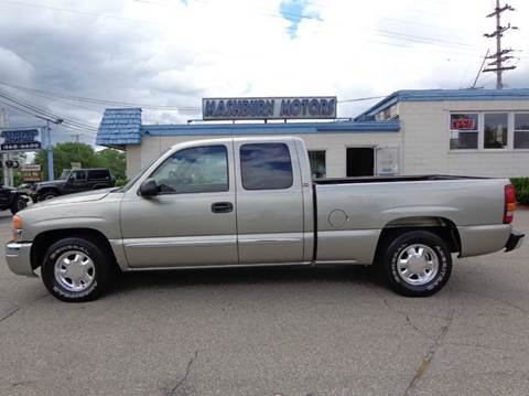 2003 GMC Sierra 1500 for sale at Mashburn Motors in Saint Clair MI