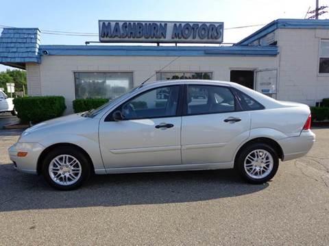 2007 Ford Focus for sale at Mashburn Motors in Saint Clair MI