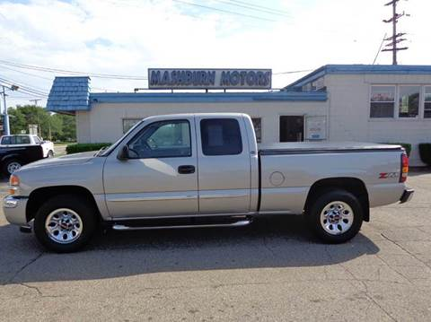 2005 GMC Sierra 1500 for sale at Mashburn Motors in Saint Clair MI