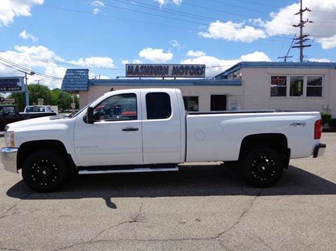 2009 Chevrolet Silverado 2500HD for sale at Mashburn Motors in Saint Clair MI