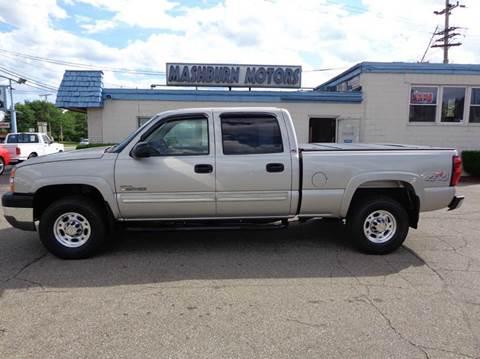 2004 Chevrolet Silverado 2500HD for sale at Mashburn Motors in Saint Clair MI