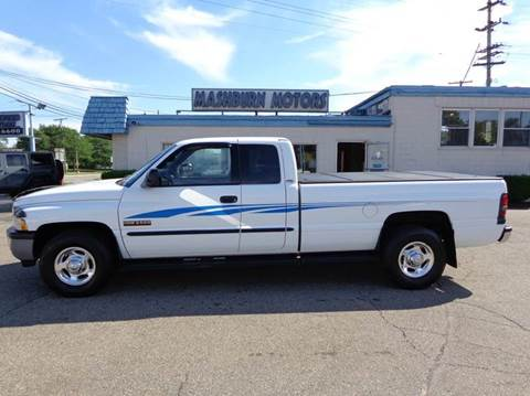 2001 Dodge Ram Pickup 2500 for sale at Mashburn Motors in Saint Clair MI