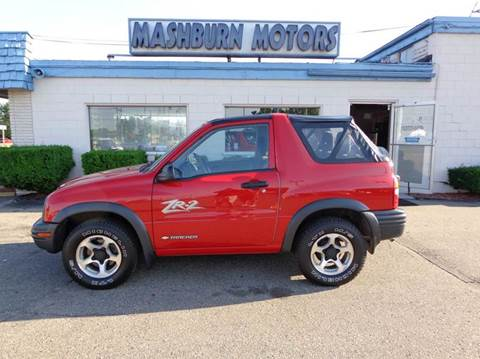 2003 Chevrolet Tracker for sale at Mashburn Motors in Saint Clair MI