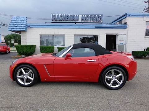 2007 Saturn SKY for sale at Mashburn Motors in Saint Clair MI